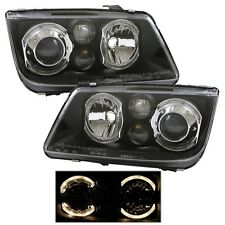 99-05 Volkswagen Jetta Black Projector Head Lights DEPO