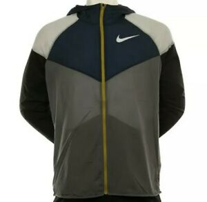 Nike Men's Windrunner Repel Running Jacket AR0257-021 Size Large New $110 MSRP