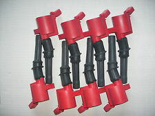 1999-2004 MUSTANG 4.6 SOH ONLY!!  Set of 8 Heavy Duty Ignition Coils DG-508 RED