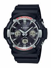 Casio G-shock Men's Solar World Time Black Resin 50mm Watch Gas100 #6