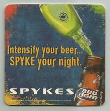 10 Spykes Intensify Your Beer Pour Mouth To Mouth Beer Coasters
