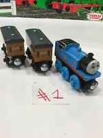 Thomas+Clarabel & Annie 2012 Thomas the Train & Friends Wooden Railway
