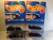 Hot Wheels Dark Rider Series Qty 4 - Twin Mill, Silhouette, Rigor, Splittin MIP