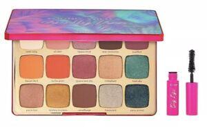 NEW 2019 TARTE Unleashed Eyeshadow Palette&Travel Size Big Ego Mascara~BNIB~