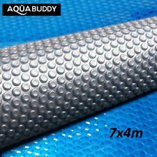 Aquabuddy 7M X 4M Solar Swimming Pool Cover 500 Micron Outdoor Bubble Blanket