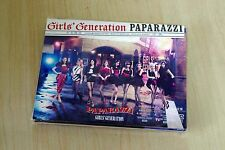 Used Girls' Generation PAPARAZZI Japan Ltd CD+DVD+2 newspaper booklet (SNSD)
