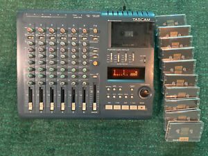 TASCAM Portastudio 424 MKIII 4 Track Recorder with Original AC Adapter