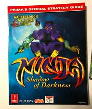 Prima NINJA Shadow of Darkness Strategy Guide Book