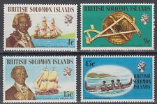 Solomon Islands 1972 ** mi.215/18 barcos ships [sq6096]