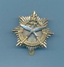 GURKHA TRANSPORT.BI-METAL ARMY CAP BADGE