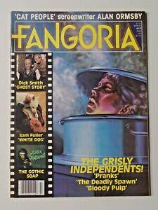 Vintage FANGORIA Magazine #17 Feb. 1982 Cat People Ghost Story Dark Shadows 7799