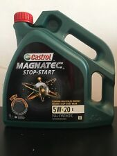 Castrol Magnatec Stop-Start 5W-20 E Fully Synthetic Engine Oil - 4 Litre Bottle