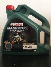 Castrol Magnatec Stop-Start 5W-20 E Fully Synthetic Engine Oil - 4 Litre Bottle