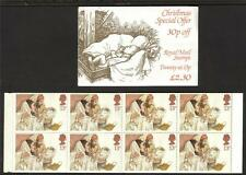 Gb 1984 Fx7 Christmas £2.30 Folded Booklet