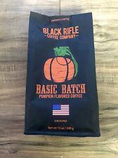 New listing Black Rifle Coffee Company Ground Coffee Basic Batch Pumpkin Flavored 12 Oz Bag