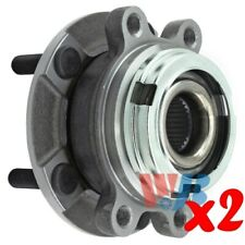 Pack of 2 Front Wheel Hub Bearing Assembly replace 513296 HA590252 BR930745