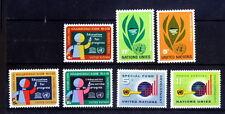 United Nations, NY MNH, 3 Sets, Education, Development, Funds -