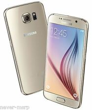 "New Samsung Galaxy S6 SM-G920F Gold (FACTORY UNLOCKED) 5.1"" QHD, 32GB, 3GB RAM"