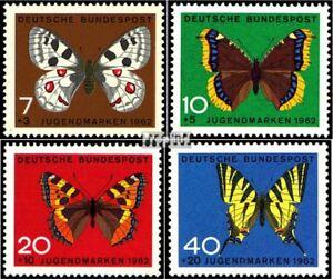 BRD (BR.Duitsland) 376-379 (compleet.Kwestie) gestempeld 1962 Jeugd merken