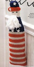 CUTE Mr. Liberty Door/Wall Hanging/Decor/Crochet Pattern Instructions