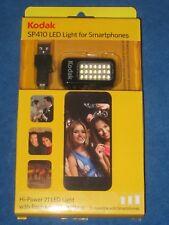 Kodak SP410 Hi-Power 21 LED Light for Smartphones, Rechargeable, New!