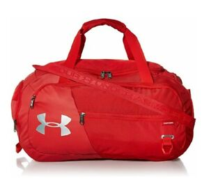 Under Armour Undeniable Duffle 4.0 - Large Gym Duffel Bag, Red/Silver, 002