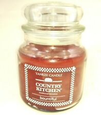Yankee Candle country kitchen bountiful Medium Classic Jar Candles 14.5 oz