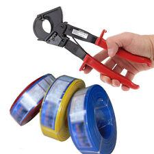 240mm Cliquet Coupe-Câbles Coupe Ciseaux Outils Compatible avec Cuivre Aluminium