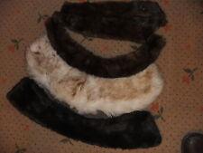 FUR collar strip assortment 5 pieces