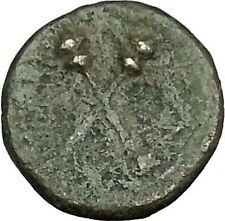 MENAINON in Sicily 175BC Demeter Ceres & Torches HOPE Emblem Greek Coin  i39580