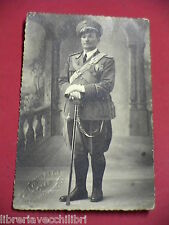 Foto Regio Esercito Italiano Seconda Guerra Mondiale Ufficiale UNIFORME TIBALDI