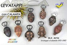 bomboniera etnica magnete calamita frigorifero statua con cavatappi levatappi