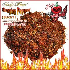 Scorpion Pepper Flakes - Crushed Scorpion Butch T Peppers (1kg/2.2lb)