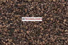 Woodland Scenics B78 Medium Dark Brown Ballast Colourfast New 383cm3 Pk 1St Clas