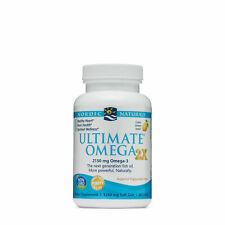 Ultimate Omega 2X Omega-3 2150mg Lemon 60 Count by Nordic Naturals exp 08-2022