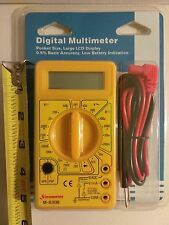 Multi-RANGE DIGITAL MULTI-TESTER M-830B Ohmmeter Voltmeter multimeter ac dc ohm
