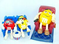 M&M Candy Dispenser Collectible Bundle 3D Movie Theater & Lazy Boy Recliner