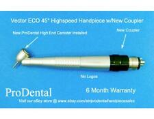 Vector 45° Dental Highspeed Handpiece w/Coupler - ProDental