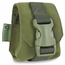 NEW Bulldog MOLLE Frag Grenade Military British Army Pouch Airsoft Olive Green