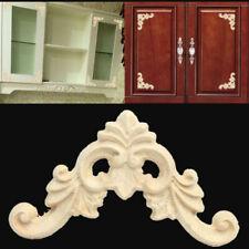 8x Ecke Ornament Handarbeit Verzierung Holzzierteil geschnitzte Möbel Dekoration