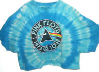 Shirt Pink Floyd 1973 Us Tour Dark Side Of The Moon Women's 2x Belly Tie Die