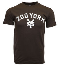 ZOO YORK IMMERGRUEN MEN BROWN T SHIRT (Regular,S)