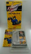 Exhaust Heat Video Game for Nintendo Super Famicom BOXED TESTED