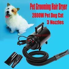 Pet Cat Dog Hair Grooming Tool Fur Dryer Heater Blaster Hairdryer Blower UK Plug