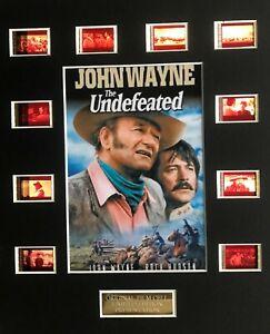 The Undefeated feat John Wayne - 35mm Film Display