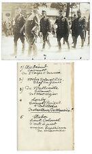 9 cartes photo cpa - Enterrement militaire Suisse 1910 Kaiser & co Bern Schweiz