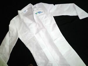 Best Medical Unisex Lab Coat 3 Pocket Harvard Vanguard Embroidery Sz L (48)