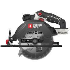 PORTER CABLE 20V MAX* Lithium Circular Saw (Tool Only) - PCC660B