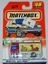 MATCHBOX TREASURE HUNT MB 2000 LOGO DELIVERY TRUCK #48