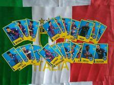 Barcelona 2017 2018 panini NESQUIK conjunto completo 22 card
